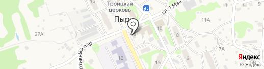 Продуктовый магазин на карте Пыры