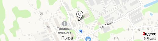 Точка на карте Пыры