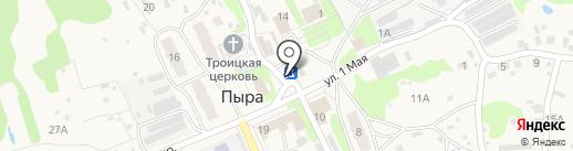 Продуктовый минимаркет на карте Пыры
