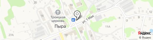 Продуктовый мини-маркет на карте Пыры