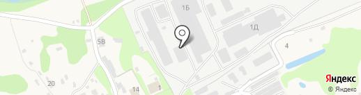Древстрой на карте Пыры