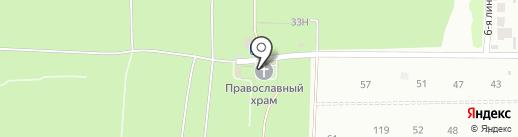 Приход Храма в честь Всех Святых на карте Дзержинска