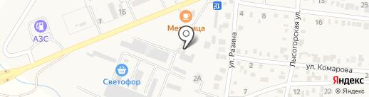 Магазин на карте Незлобной