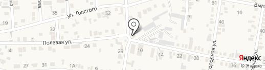 Диана на карте Незлобной