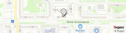 Банкомат, Волго-Вятский банк Сбербанка России на карте Дзержинска