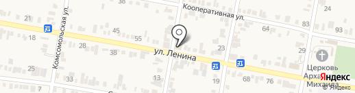 ЮЛиН на карте Незлобной