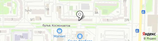 Грация на карте Дзержинска