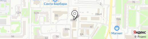 Карповские двери на карте Дзержинска