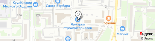 КерамаГрад на карте Дзержинска