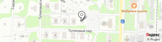 Дружина на карте Дзержинска