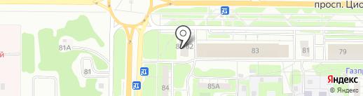 Надежный крепеж на карте Дзержинска
