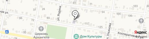 Сельская библиотека №8 на карте Незлобной