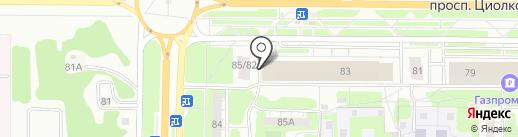 Сеть салонов ритуальных услуг на карте Дзержинска