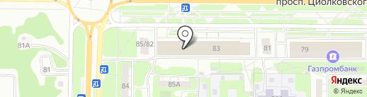 Обои & Обои на карте Дзержинска