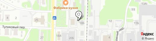 Патрон на карте Дзержинска
