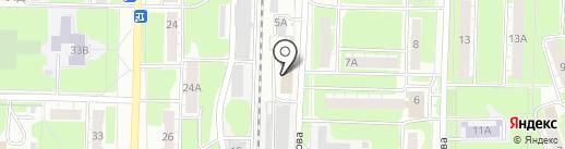Сатурн на карте Дзержинска