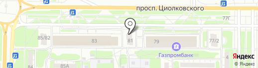Ничего себе на карте Дзержинска