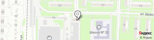 Чернореченский Узор на карте Дзержинска