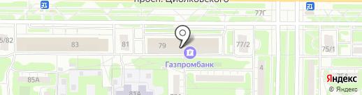 Старый Граф на карте Дзержинска