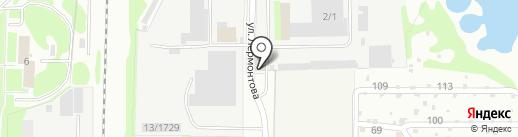 Аквариум на карте Дзержинска