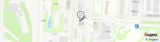 Зефс-Энерго на карте Дзержинска