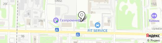 Судебный участок Дзержинского судебного района Нижегородской области на карте Дзержинска