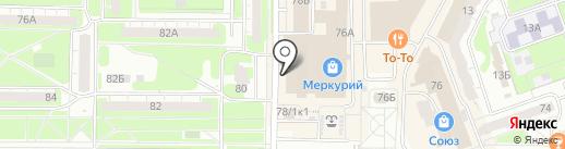 Глазной кабинет доктора А.С. Галчина на карте Дзержинска