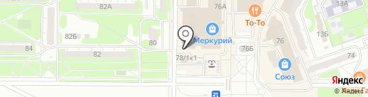 Банкомат, Мособлбанк, ПАО на карте Дзержинска
