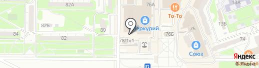 Магазин электроинструмента на карте Дзержинска