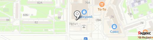 Найфомания на карте Дзержинска