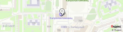 Салют на карте Дзержинска