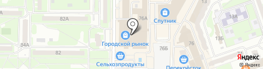 Тик-Так на карте Дзержинска