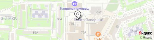Детская школа искусств №5 на карте Дзержинска