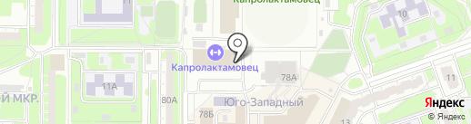 ВАРЯГ на карте Дзержинска