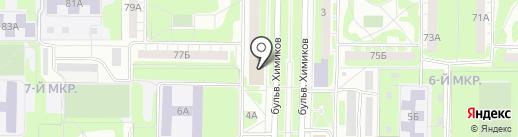 Аптека №316 на карте Дзержинска