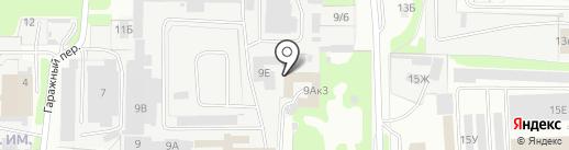 Инкомавто на карте Дзержинска