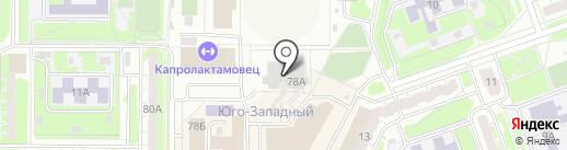Легион на карте Дзержинска