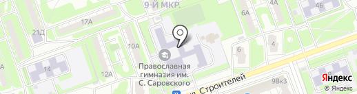 Средняя общеобразовательная школа №37 на карте Дзержинска
