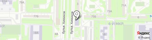Комби на карте Дзержинска
