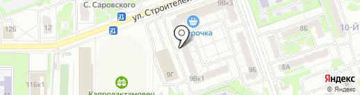 Салон оптики на карте Дзержинска