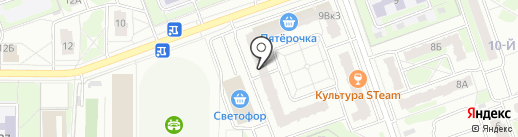 Оптима на карте Дзержинска