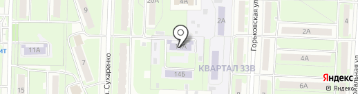 Детский сад №44 на карте Дзержинска