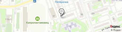 Автоматика на карте Дзержинска