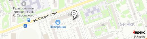 Молодежный на карте Дзержинска