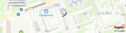 Rich house на карте Дзержинска