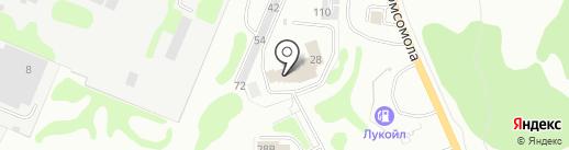 Пожарная часть №62 на карте Дзержинска