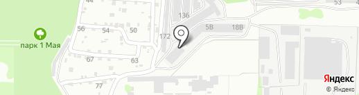 Автосервис на Красноармейской на карте Дзержинска