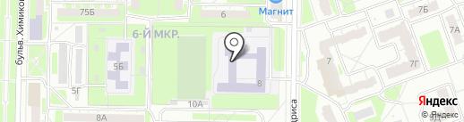 Гимназия №38 на карте Дзержинска