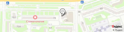 СоветникЪ на карте Дзержинска