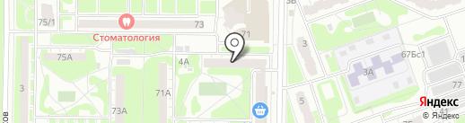СервисПлюс на карте Дзержинска